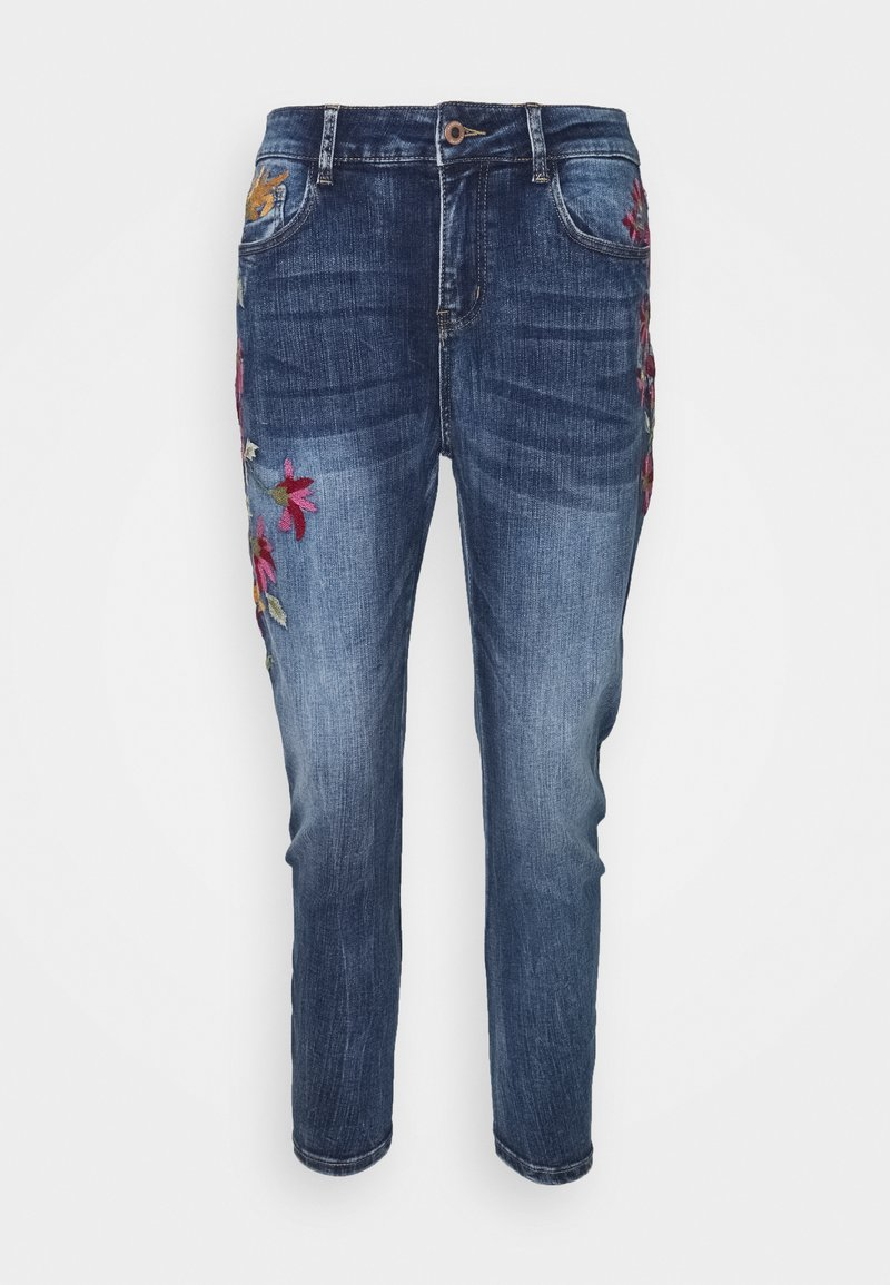 Desigual - LUISIA - Relaxed fit jeans - blue