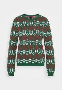 Monki - SOMIA - Jumper - green jaquard knit - 4