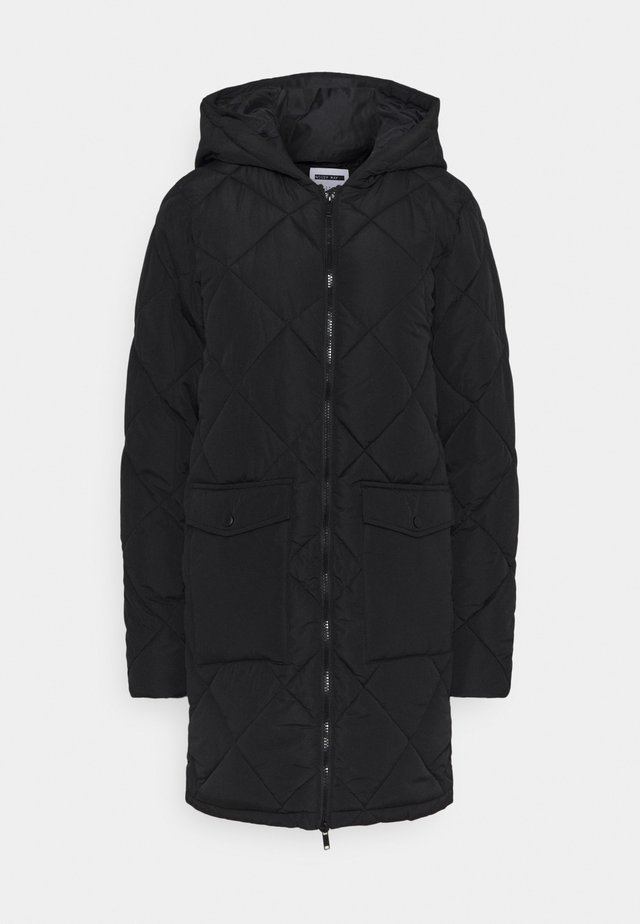 NMFALCON JACKET - Mantel - black