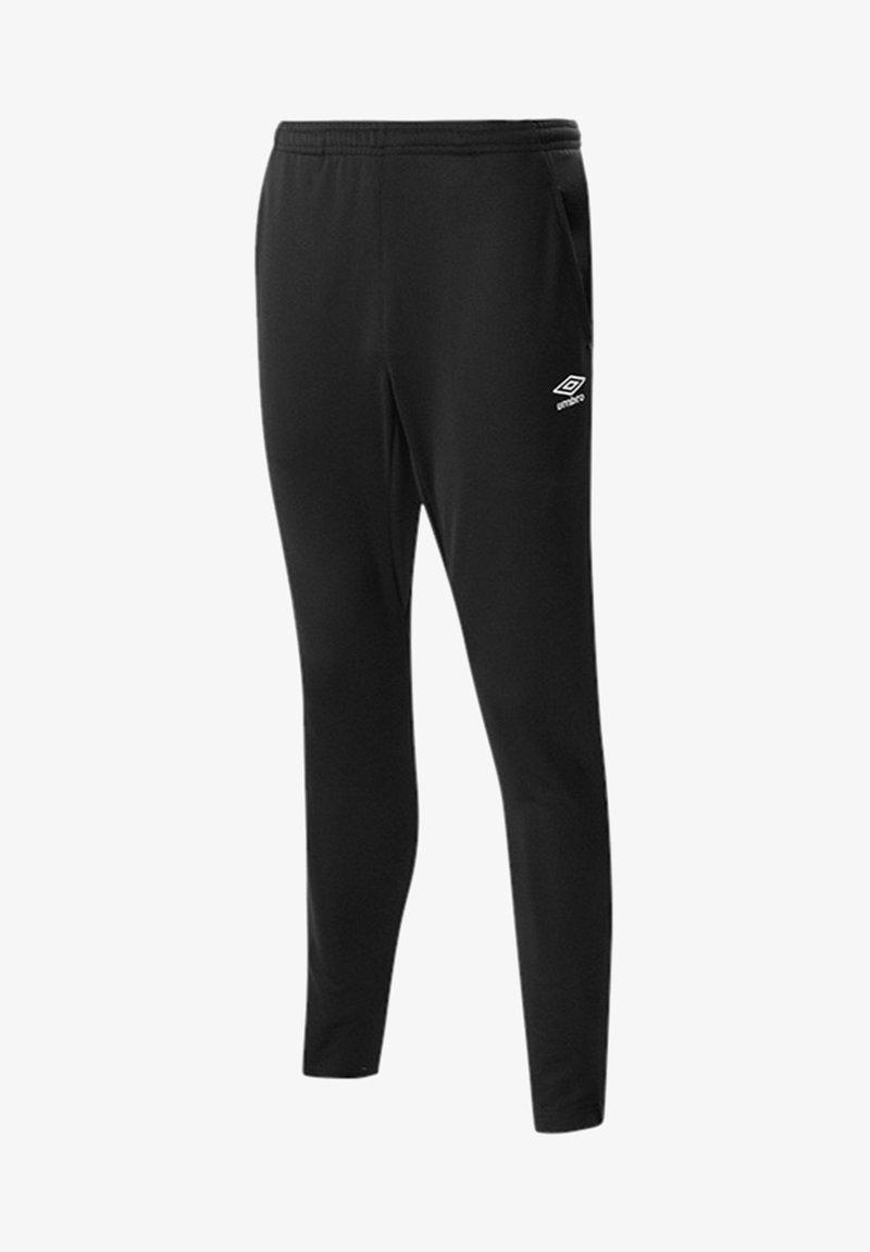 Umbro - HOSEN TAPERED PANTS JOGGINGHO - Trousers - schwarz
