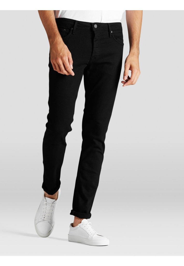 Jack & Jones - Vaqueros pitillo - black denim