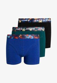 Jack & Jones Junior - 3 PACK - Pants - purple, black, grey - 0