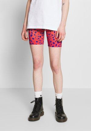VIVID CHEETAH CYCLING - Shorts - orange multi