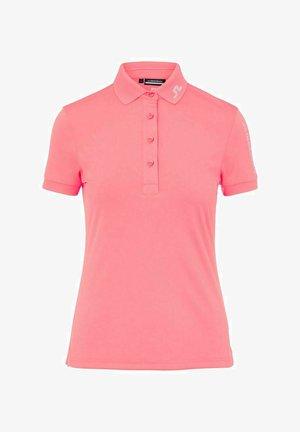 TOUR TECH - Polo shirt - tropical coral