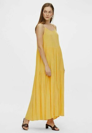 Maxi dress - pale marigold