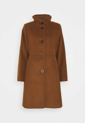 BASIC COAT - Classic coat - rust brown
