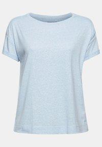 Esprit - PER COO CLOUDY - Basic T-shirt - light blue - 8