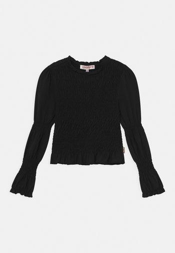 HARLOES - Long sleeved top - deep black