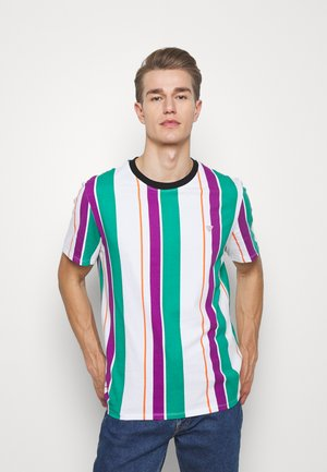 STRIPES TEE - Camiseta estampada - purple