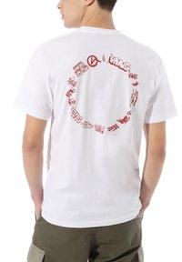 Vans - VANS - T-shirt z nadrukiem - white - 1