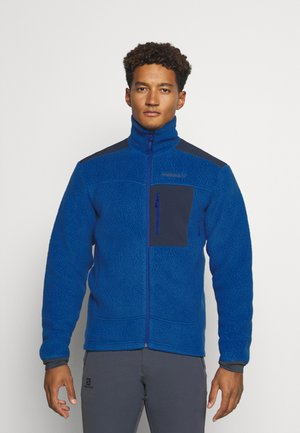 TROLLVEGGEN THERMAL PRO JACKET - Forro polar - blue