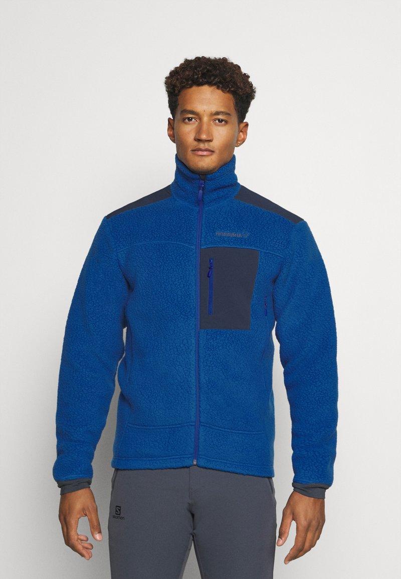 Norrøna - TROLLVEGGEN THERMAL PRO JACKET - Fleece jacket - blue