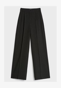 Bershka - Trousers - dark grey - 4