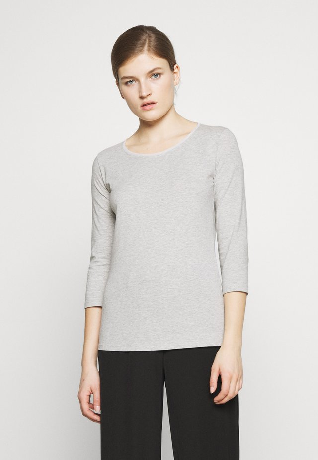 MULTIA - Camiseta de manga larga - hellgrau