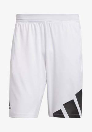 4K 3 BAR DESIGNED4TRAINING PRIMEGREEN SHORTS - Träningsshorts - white