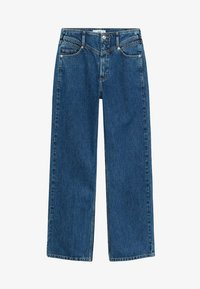 Mango - JULIETTE - Flared Jeans - donkerblauw - 5