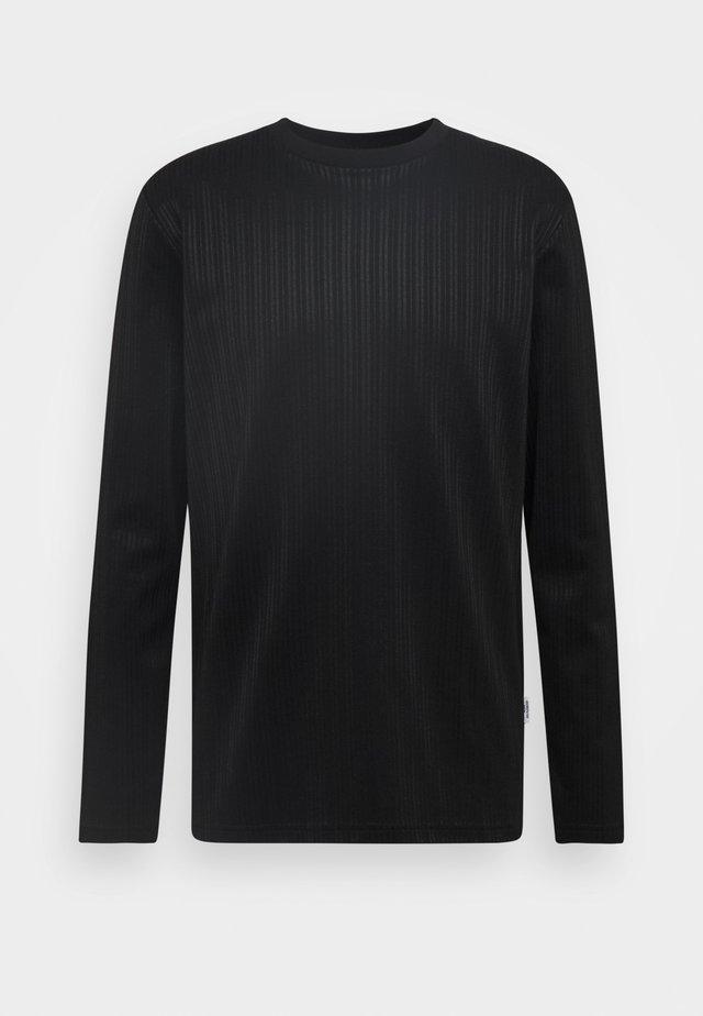 TEDDY - T-shirt à manches longues - black