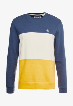 COLORBLOCK CREW - Sweatshirt - saragasso sea