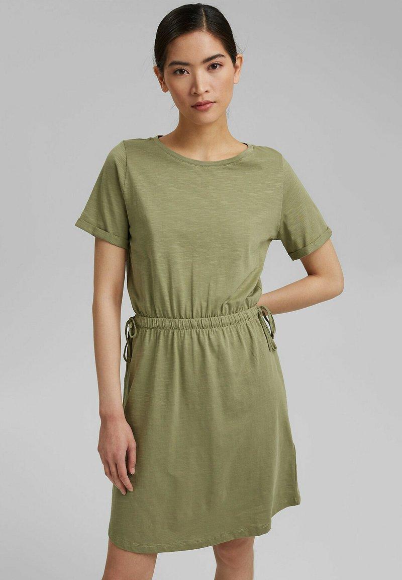 Esprit - Jersey dress - light khaki