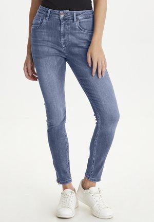 PZEMMA - Slim fit jeans - medium blue denim
