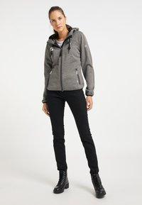 ICEBOUND - Fleece jacket - grau melange - 1