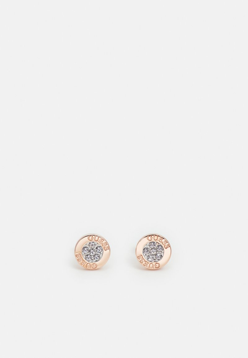 Guess - LOVE KNOT - Earrings - rose gold-coloured