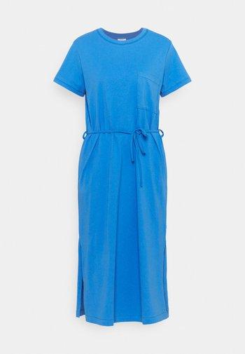 Jersey dress - intense blue
