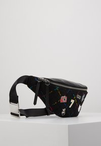 KARL LAGERFELD - STUDIO BUMBAG - Bum bag - black/multi