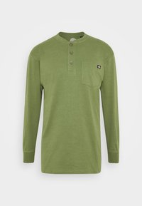 Dickies - HENLEY TEE - Long sleeved top - army green - 3