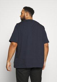 Calvin Klein - SHADOW LOGO - T-shirt con stampa - blue - 2