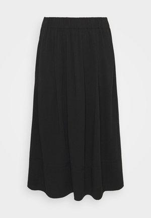 KIA MIDI - A-line skirt - black