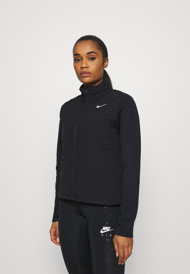 Nike Performance - AEROLAYER - Sports jacket - black/reflective silver