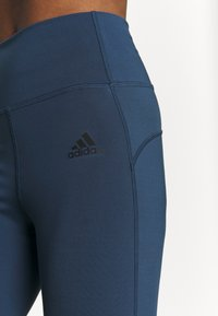 adidas Performance - FEELBRILLIANT DESIGNED TO MOVE TIGHTS - Tights - dark blue - 5