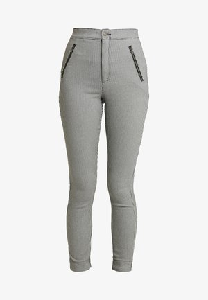 PLAID SUPER - Trousers - grey