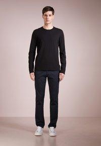 James Perse - CREW - Long sleeved top - black - 1