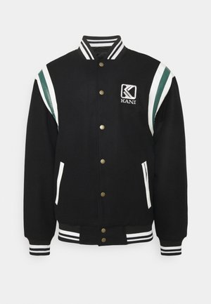 BLEND COLLEGE JACKET - Kurtka Bomber - black