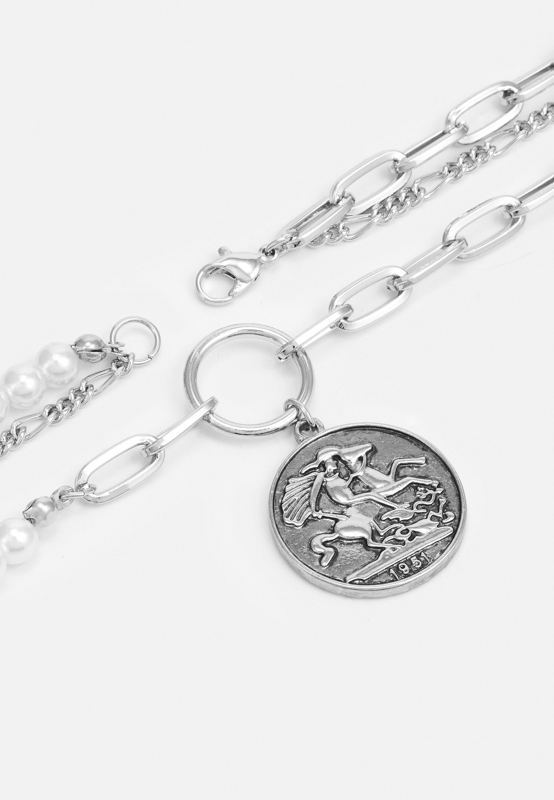 Homme COIN LAYERED NECKLACE UNISEX - Collier