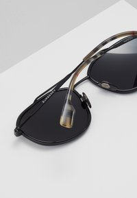 Burberry - Sunglasses - matte black - 5