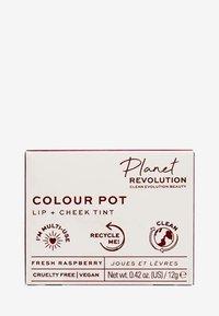 Revolution Planet - PLANET REVOLUTION THE COLOUR POT - Lip & cheek tint - fresh raspberry - 2