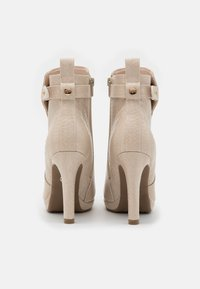 Buffalo - VEGAN AUDRINA - High heeled ankle boots - nude - 3