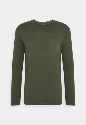 Långärmad tröja - olive
