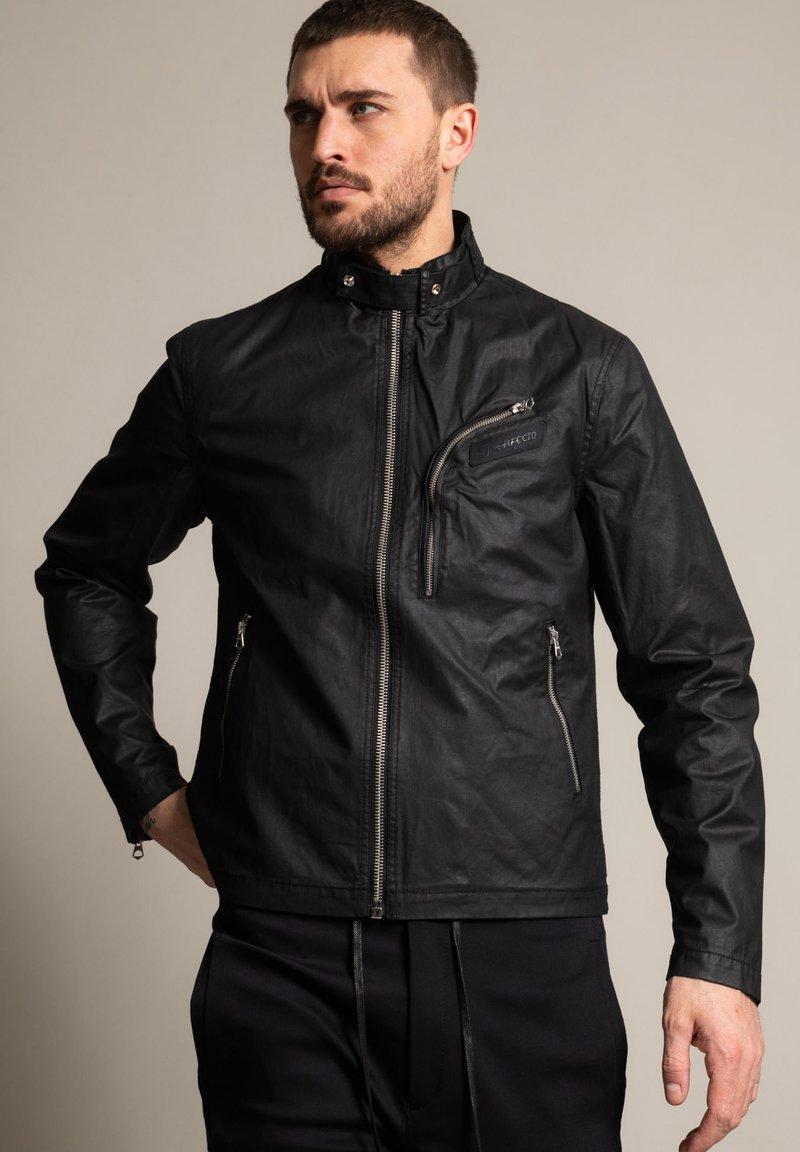Schott - Outdoor jacket - schwarz