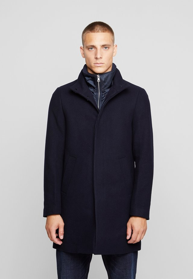 HARVEY - Classic coat - dark navy