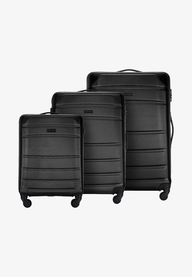 SET - Wheeled suitcase - schwarz