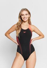 Speedo - Swimsuit - black/red - 1