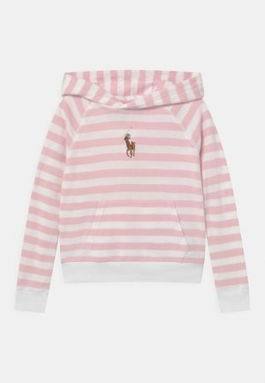 Sweatshirt - hint of pink/white