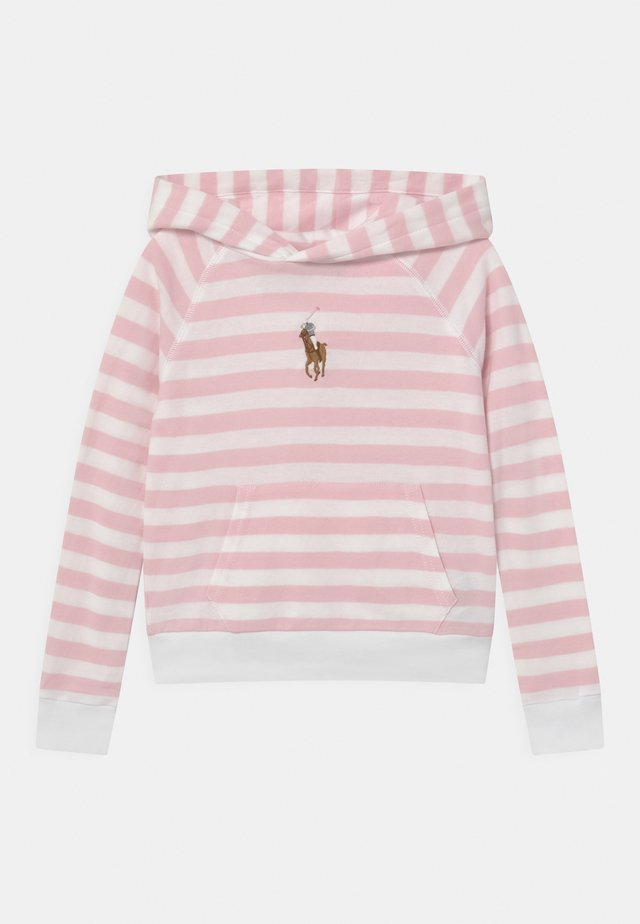 Sweater - hint of pink/white