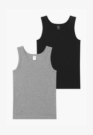 TEENS 2 PACK  - Undershirt - black/grey