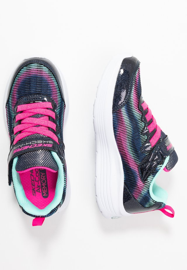 SKECH-AIR DUAL - Zapatillas - navy/multicolor/hot pink