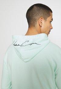 Hollister Co. - TONAL BOX SOLID UNISEX - Sweatshirt - mint - 5